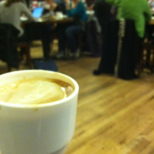 Photo taken at Housing Works Bookstore Cafe by Joanna S. on 3/3/2012