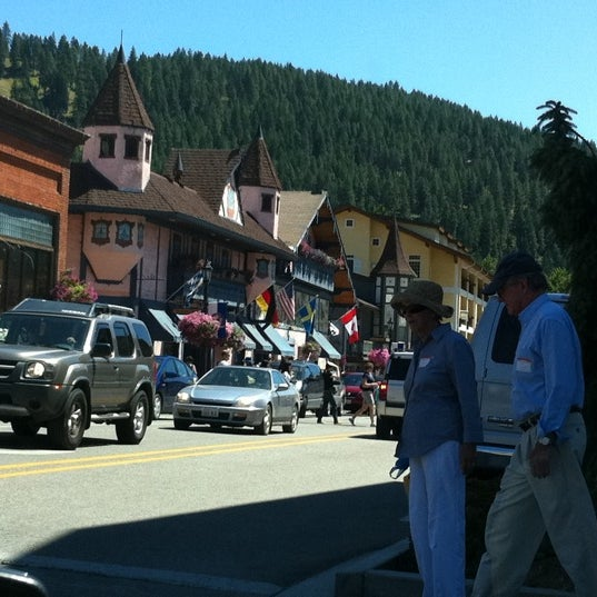 Photo taken at Town of Leavenworth by Sandeep S. on 7/30/2011