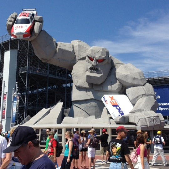 Photo taken at Dover International Speedway by aaron r. on 6/3/2012