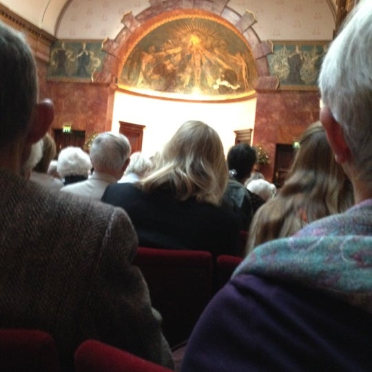 Photo taken at Wigmore Hall by Dina B. on 3/25/2012