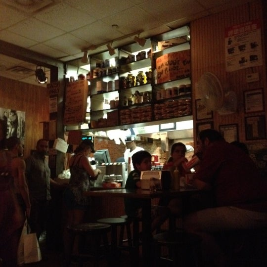 Photo taken at Burger Joint by Dave R. on 7/8/2012