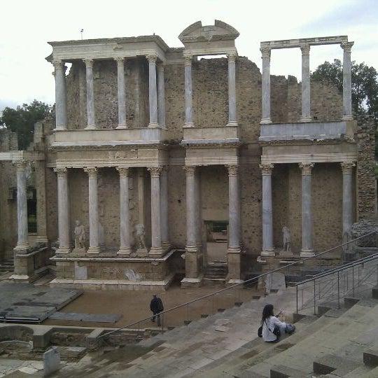 Photo taken at Anfiteatro Romano by Freefri A. on 4/29/2011