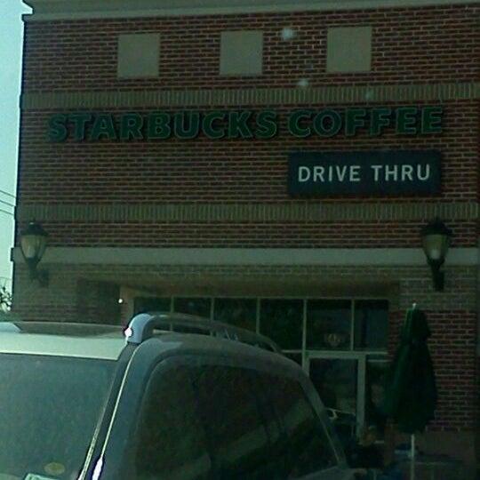 Photo taken at Starbucks by Danielle B. on 9/23/2011