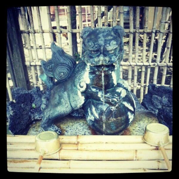 Photo taken at 大塚天祖神社 by yugopixy on 4/15/2012