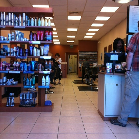 Photo taken at Hair Cuttery by Mary D. on 6/9/2012