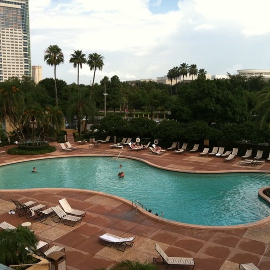 Photo taken at Rosen Plaza Hotel by Liana M. on 7/13/2011