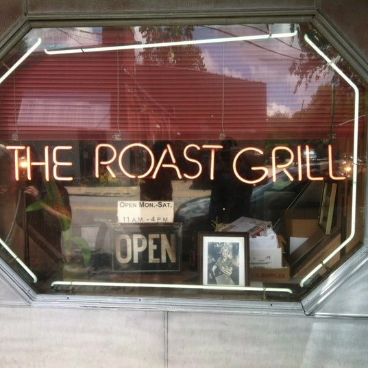 Photo taken at The Roast Grill by TJ N. on 5/26/2012