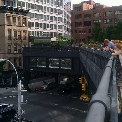 Photo taken at High Line 10th Ave Amphitheatre by Camia J. on 7/15/2012