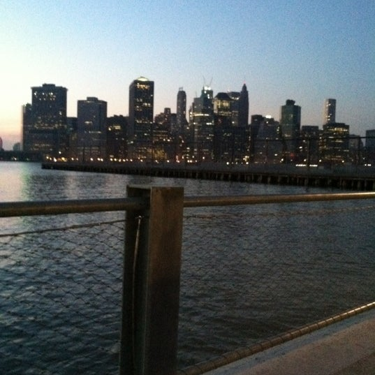Photo taken at Brooklyn Bridge Park - Pier 6 by Jeanette C. on 3/18/2012