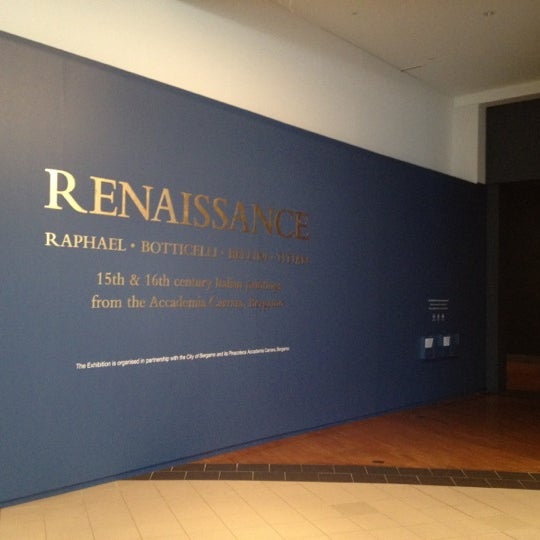 Photo taken at National Gallery of Australia by Rob F. on 4/6/2012