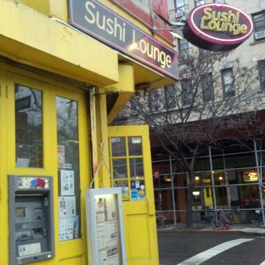 Photo taken at Sushi Lounge by Ricardo B. on 1/26/2012