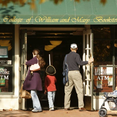 Photo taken at College of William & Mary Bookstore by College of William & Mary on 1/13/2011