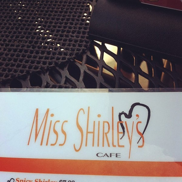 Photo taken at Miss Shirley's Cafe by Josh M. on 5/13/2012