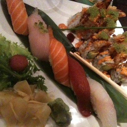 Photo taken at Ruyi Asian Fusion by Christopher H. on 4/14/2011
