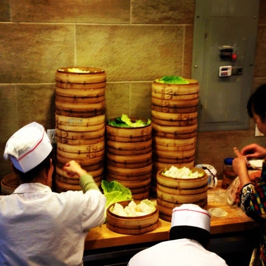 Photo taken at Shanghai Café Deluxe by jon f. on 1/16/2012