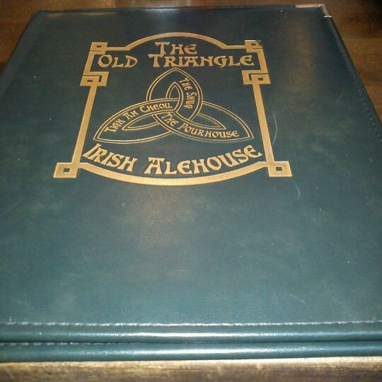 Photo taken at The Old Triangle Irish Alehouse by Cody M. on 9/5/2011