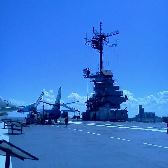 Photo taken at USS Lexington Museum On The Bay by Nancy T. on 10/2/2011