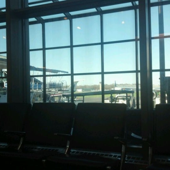Photo taken at Westchester County Airport (HPN) by Jessie R. on 4/8/2012