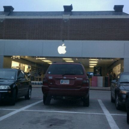 Photo taken at Apple Store, University Park Village by Trent O. on 4/20/2011