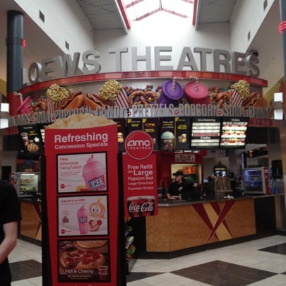 Photo taken at AMC Loews Palisades Center 21 by Stephen M. on 8/5/2012