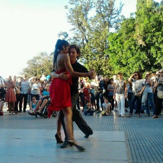 Photo taken at Plaza Francia by Lisette R. on 4/1/2012