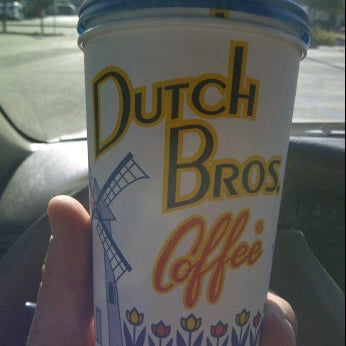 Photo taken at Dutch Bros. Coffee by Russell M. on 5/30/2012