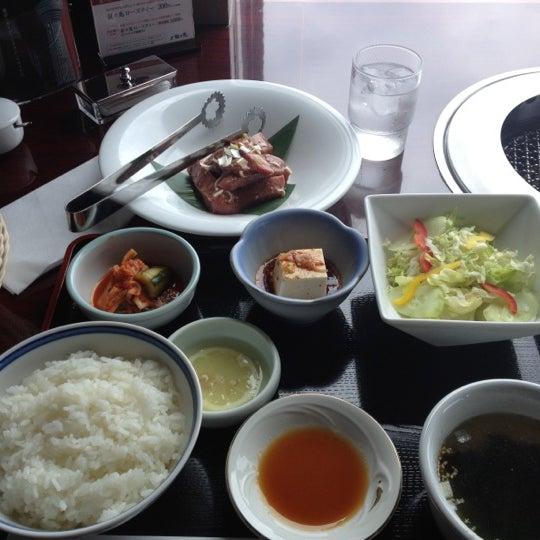 Photo taken at 叙々苑 恵比寿ガーデンプレイス店 by ちかりりす on 6/29/2012