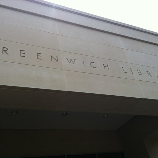Photo taken at Greenwich Library by Louisa B. on 7/31/2012