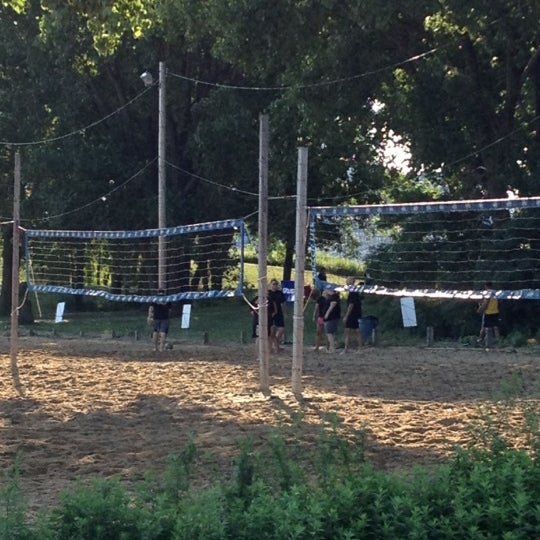 Photo taken at Whiskey Island Volleyball Courts by Lilliam D. on 7/29/2012
