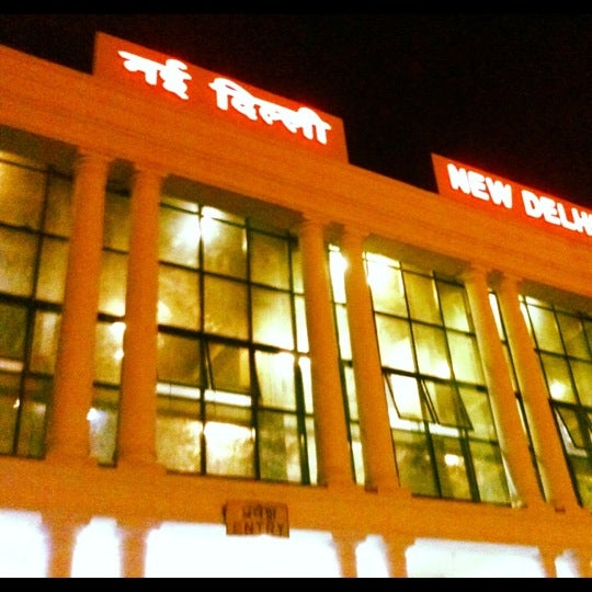 Photo taken at New Delhi Railway Station (NDLS) by abhay b. on 8/3/2012
