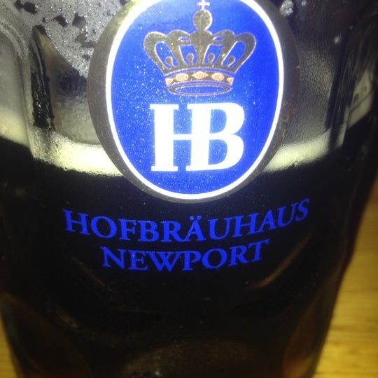 Photo taken at Hofbräuhaus Newport by Frank A. on 5/13/2012
