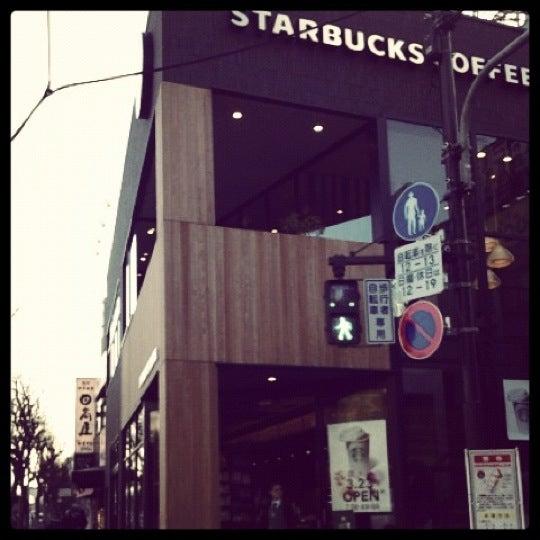 Photo taken at Starbucks Coffee 神楽坂下店 by 瑛 .. on 3/27/2012