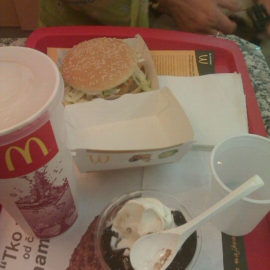 Photo taken at McDonald's by Domagoj D. on 9/28/2011