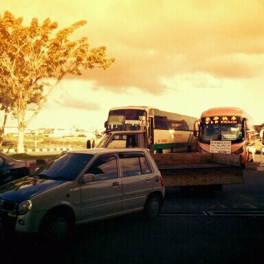 Photo taken at Kuching Bus Terminal by danish f. on 12/19/2011