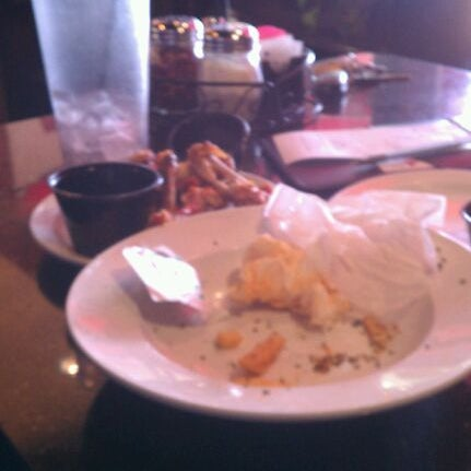 Photo taken at Alondra Hot Wings by Joey C. on 1/21/2012