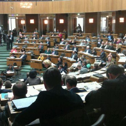 Photo taken at Parlament by Gerhard L. on 10/28/2011