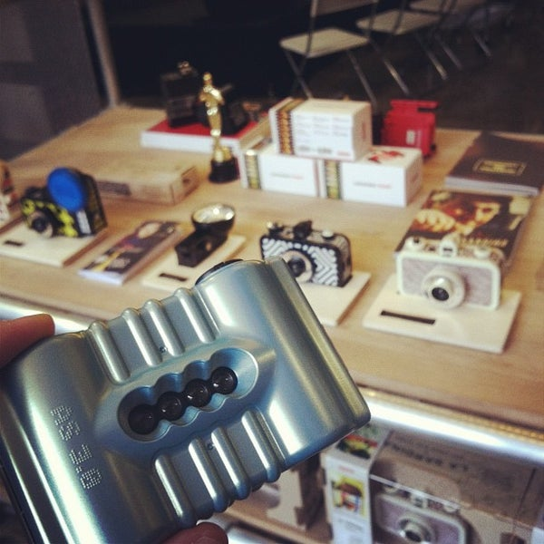 Photo taken at Lomography Gallery Store Austin by Stephen T. on 3/11/2012