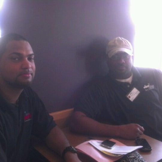 Photo taken at Panera Bread by Bradley T. on 6/28/2012