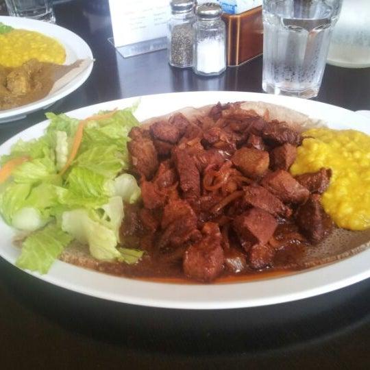 Photo taken at New Eritrea Restaurant & Bar by @Nacron on 5/28/2012