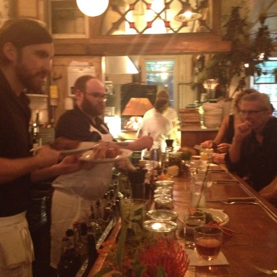 Photo taken at Vinegar Hill House by Lara on 6/22/2012