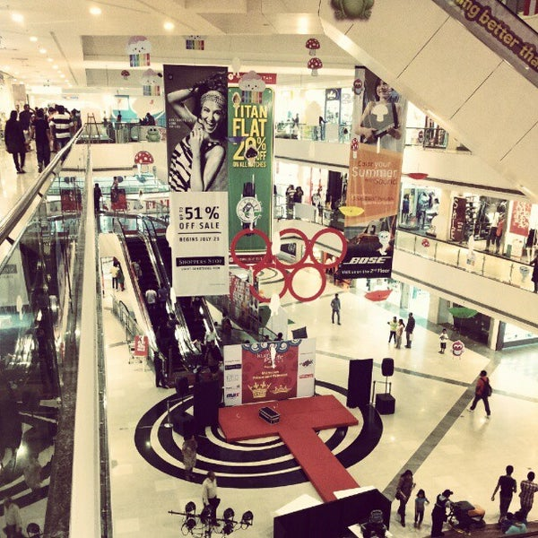 Photo taken at Kumar Pacific Mall by Gaurav P. on 7/29/2012