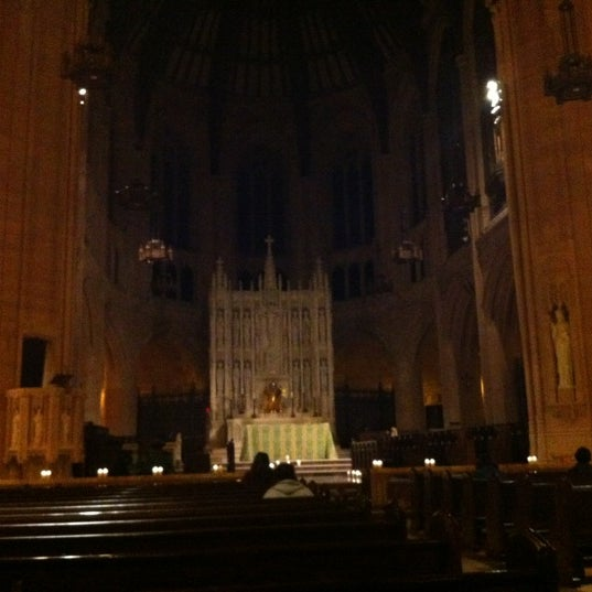 Photo taken at St. Dominic's Catholic Church by Korki L. on 8/20/2012