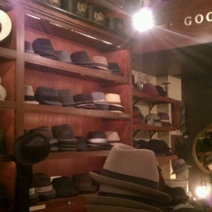 Photo taken at Goorin Bros. Hat Shop by A E. on 11/14/2011