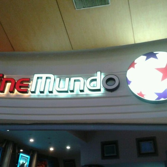 Photo taken at CineMundo by ★ ManuDroid ★ on 10/9/2011