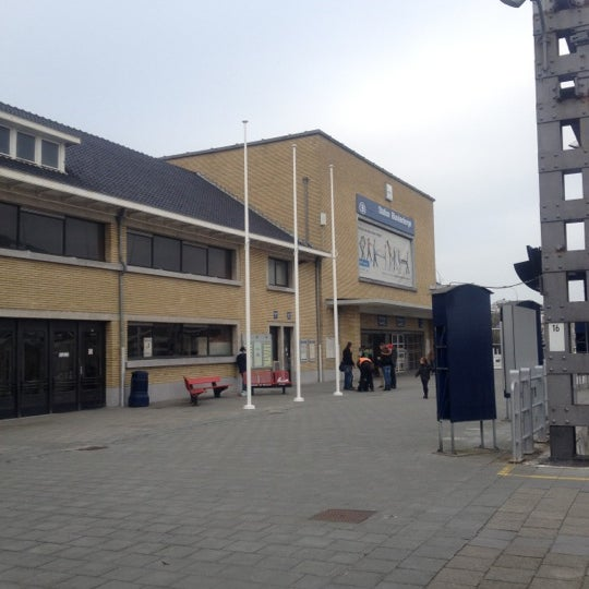 Photo taken at Station Blankenberge by Evy A. on 3/3/2012