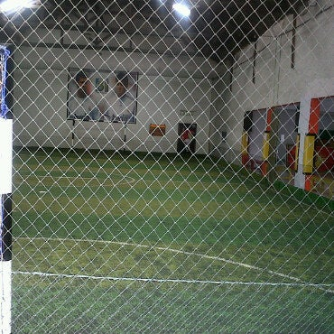 Photo taken at Bayam Indah Futsal Center by Etink Tings on 4/14/2011