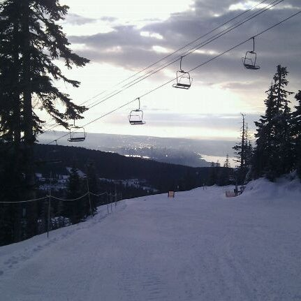 Photo taken at Cypress Mountain Ski Area by Cang S. on 12/11/2011
