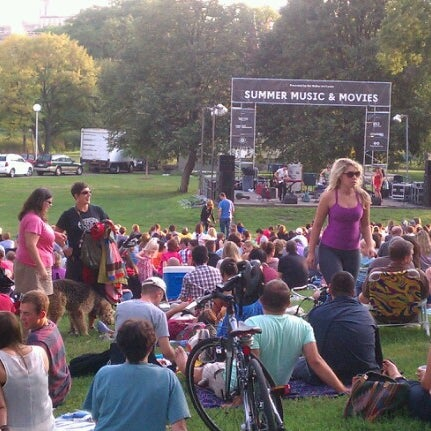 Photo taken at Loring Park by Paul on 8/14/2012