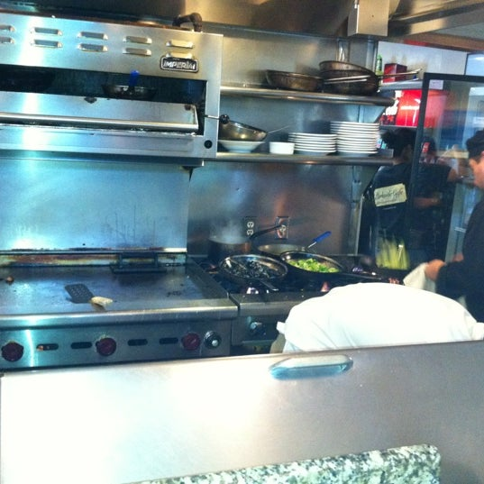 Photo taken at Parkside Cafe by Eric K. on 4/8/2012