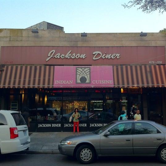 Photo taken at Jackson Diner by Justin O. on 9/1/2012